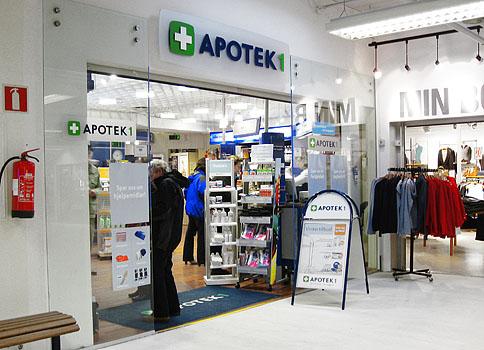 apotek 1 galleriet åpningstider